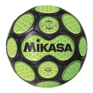 Mikasa Aura Model Soccer Ball, Size 4, Black and Neon Green