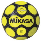 Mikasa Aura Model Soccer Ball, Size 5, Black and Neon Yellow
