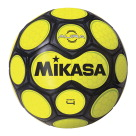 Mikasa Aura Model Soccer Ball, Size 4, Black and Neon Yellow