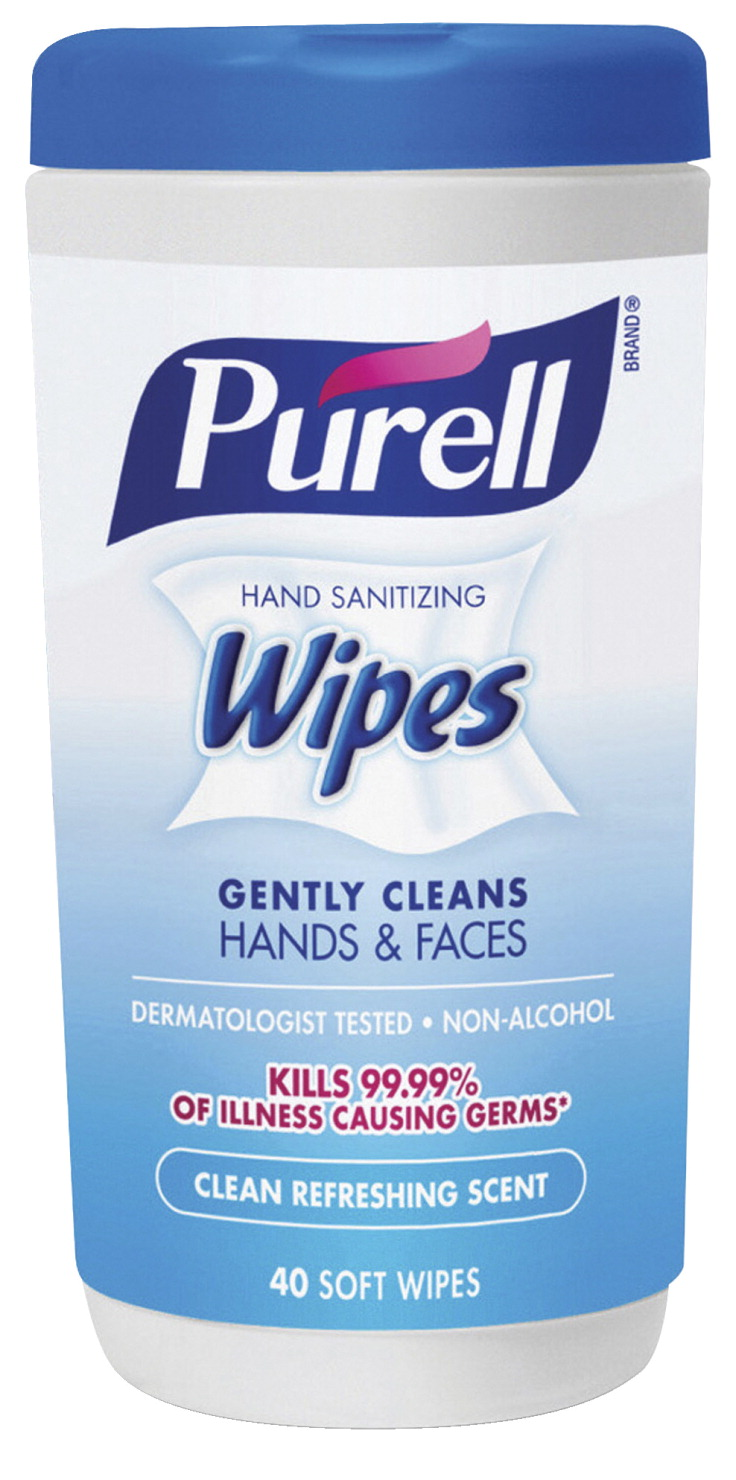Purell Hand Sanitizing Wipes Clean Scent 40 Sheets