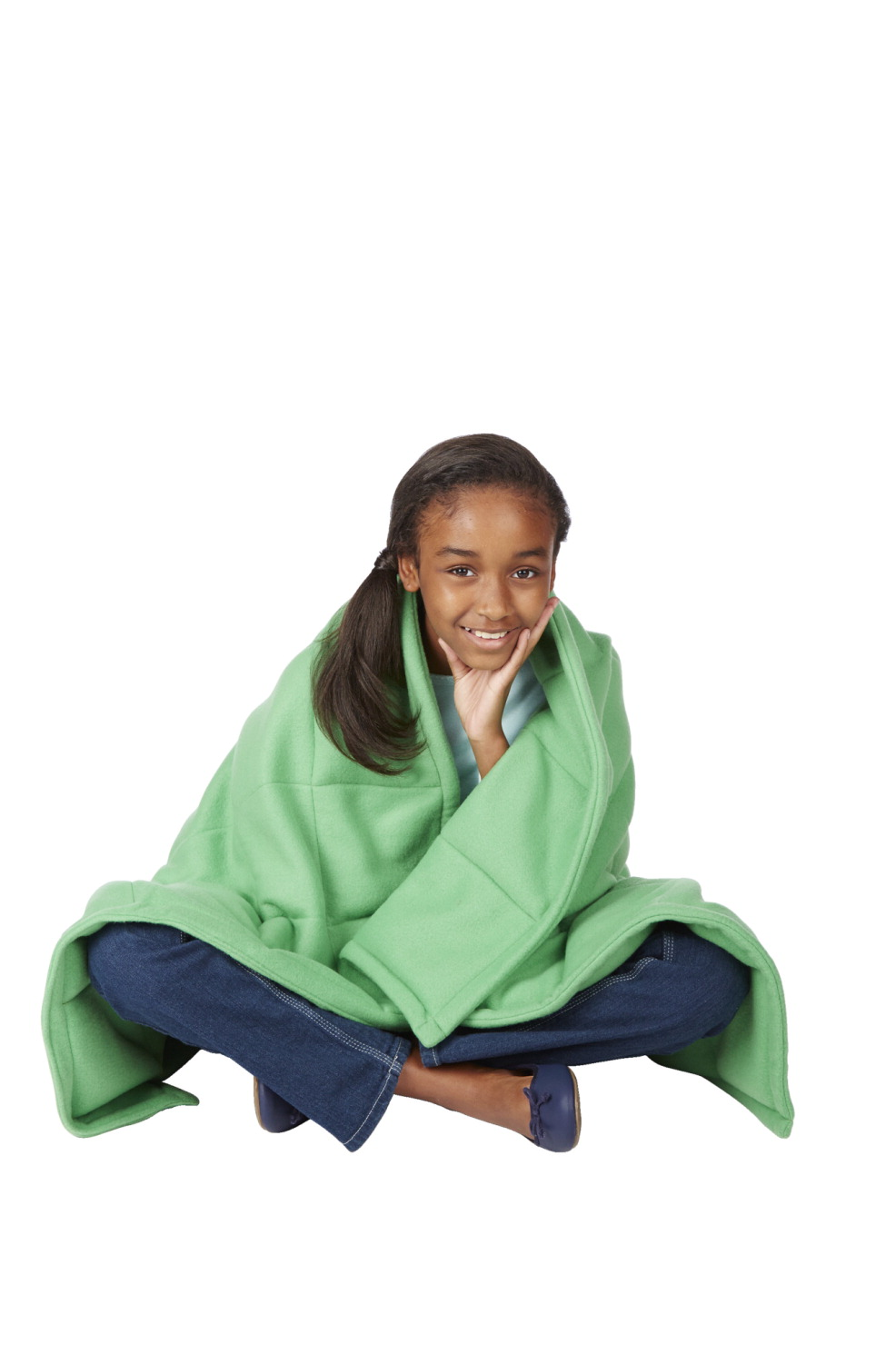 Abilitations Fleece Weighted Blanket 5c075ce40