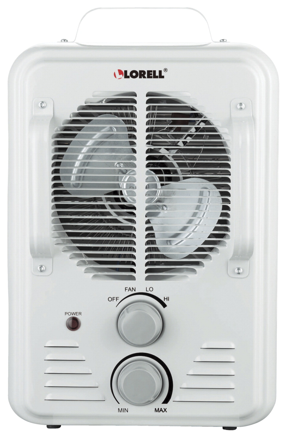Portable Fan In A Classroom : Lorell portable ceramic heater fan settings