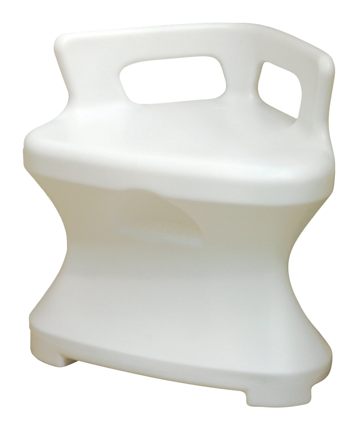 Fabrication Enterprises Plastic Corner Shower Seat, White