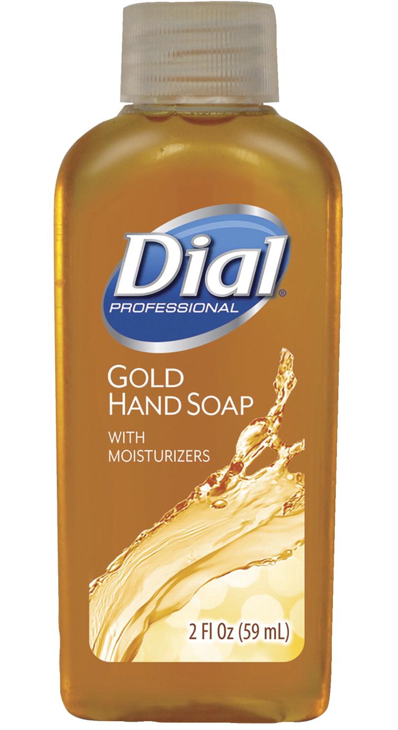 Dial Original Gold Antimicrobial Liquid Soap 2 Oz Case