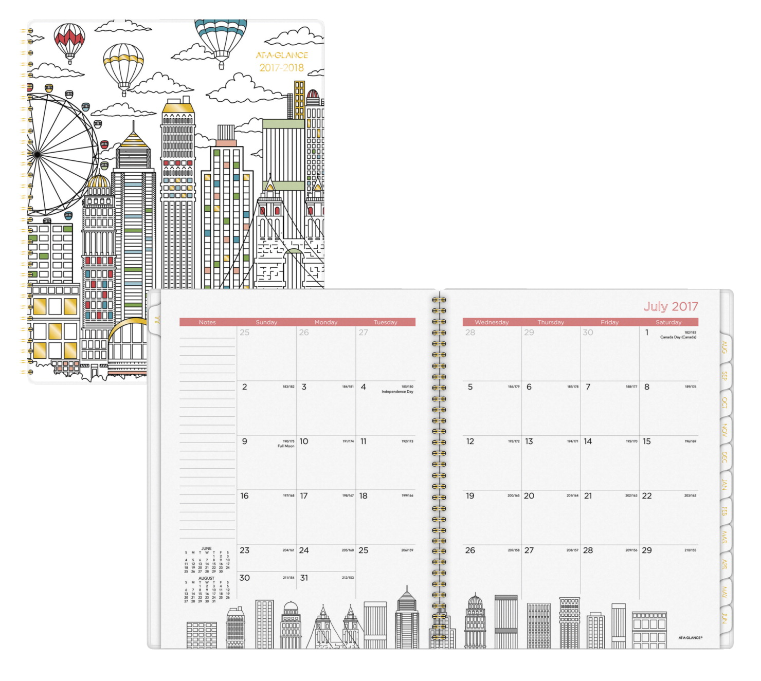 At a glance paint the town planner 12 months 9 1 4 x 11 for Paint planner