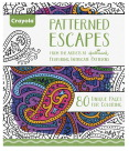 Crayola Patterned Escapes Coloring Book, 80 Pages