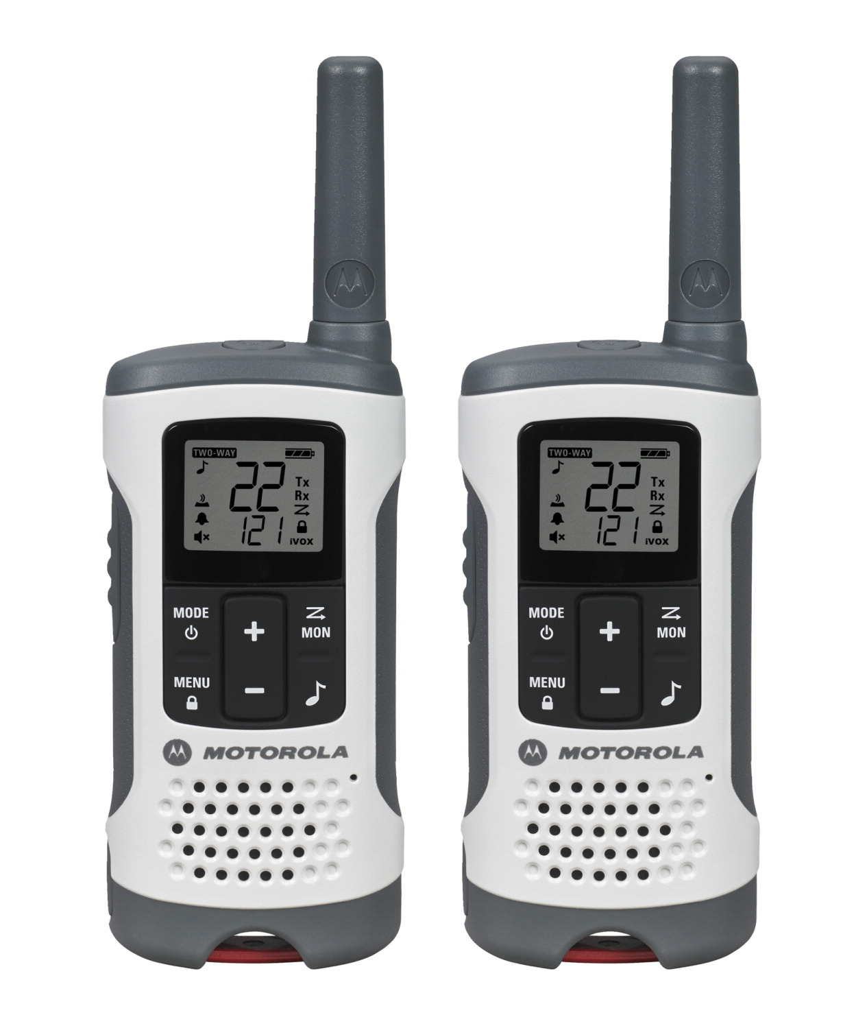 Motorola Two Way Radio, GMRS-FRS, Recreational, Pack of 2