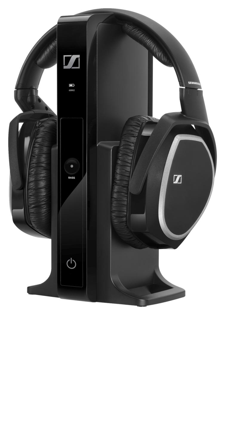 Sennheiser Wireless Headphones System With Bass Boost