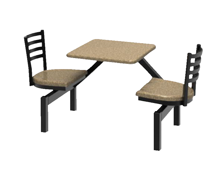 Palmer Hamilton Square Outdoor Table with Anchors, 2 Seats, Various Options - Palmer Hamilton Square Outdoor Table With Anchors, 2 Seats, Various
