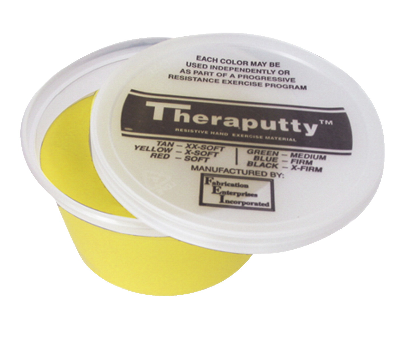 Cando Extra Soft Resistance Theraputty, Banana Scented, 2 Ounces, Yellow