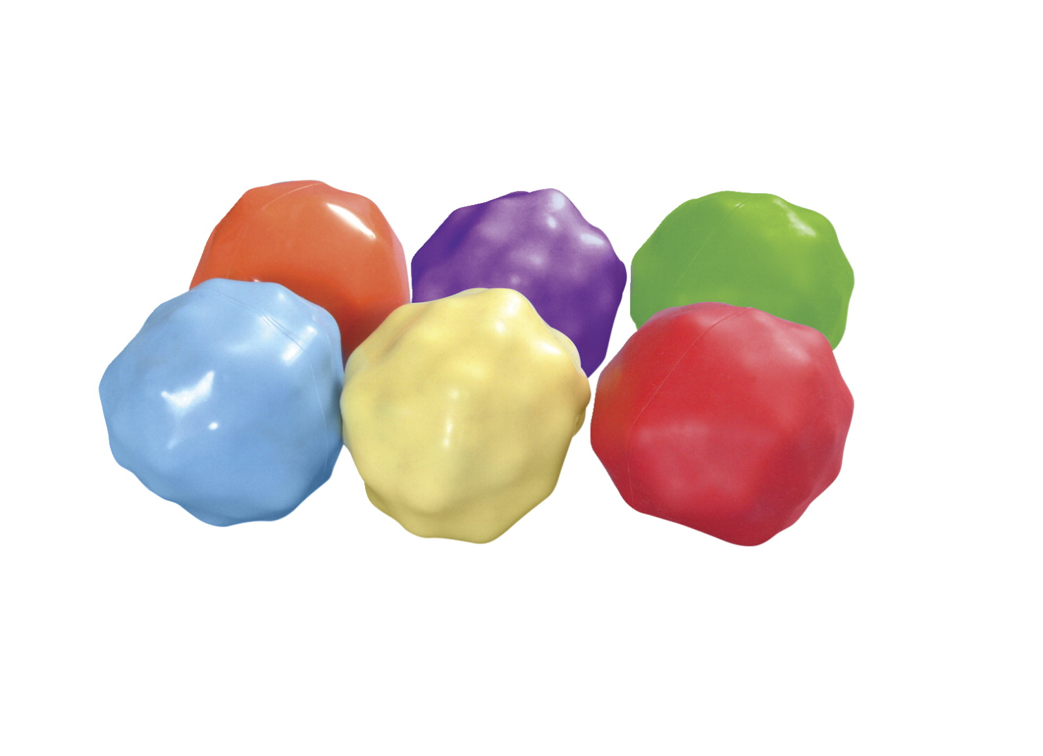 Abilitations Yuck-E-Balls, Assorted Colors, Set of 6