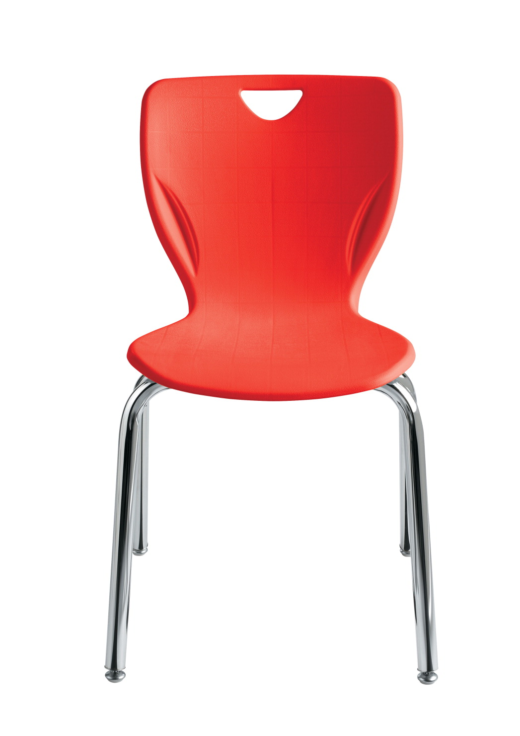 Classroom Select Contemporary Chair, 18 Inch A+ Seat Height, Chrome Frame, Various Options