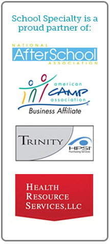 School Specialty is a proud partner of American Camp Associatio and Trinity