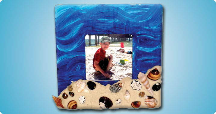 Elmers 3-D Beach Frame