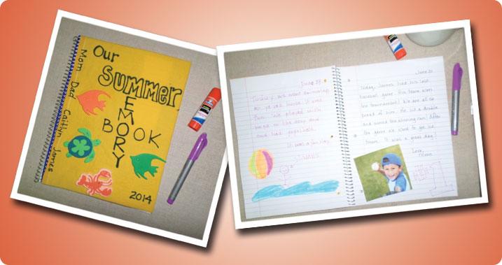 Elmers Summer Memory Book