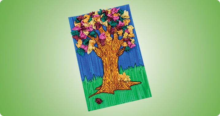 Tissue Paper Tree