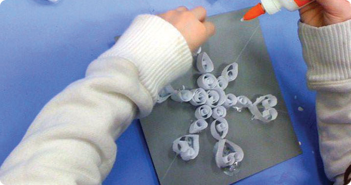 Quilled Paper Art – Snowflake