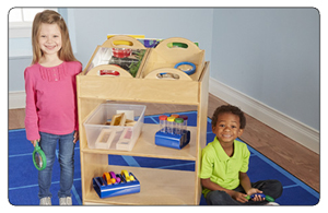 FREE Manipulative Set with Purchase of Selected Childcraft Storage Units