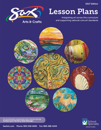 2017 Sax Art Lesson Plan Brochure