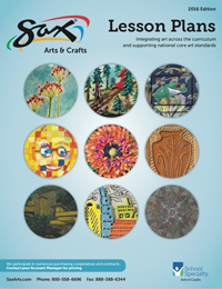 2018 Sax Art Lesson Plan Brochure