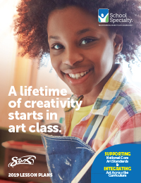2019 Sax Art Lesson Plan Brochure